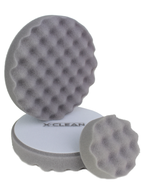 Polier Pad Antihologramm Waffel - grau - MEDIUM