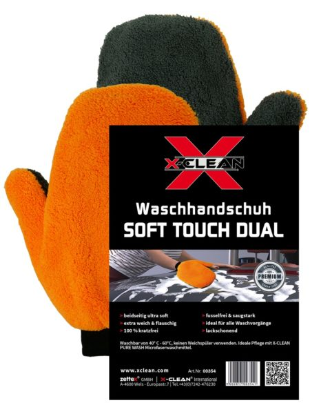 Waschhandschuh SOFT TOUCH DUAL