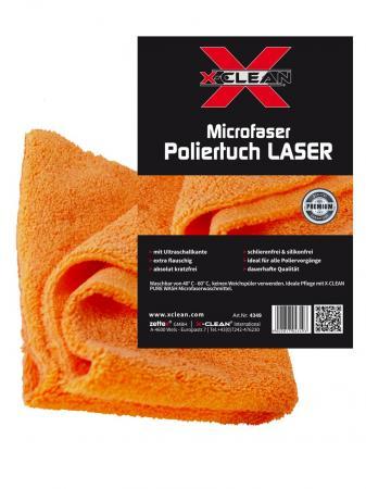 Poliertuch LASER Microfaser